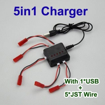 5in1 charger with USB 5JTS wire---10.5